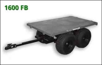 ATV Wagon: 1600 Flatbed ATV Trailer