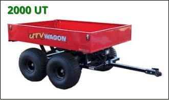 ATV Wagon: 2000 Utility ATV Trailer